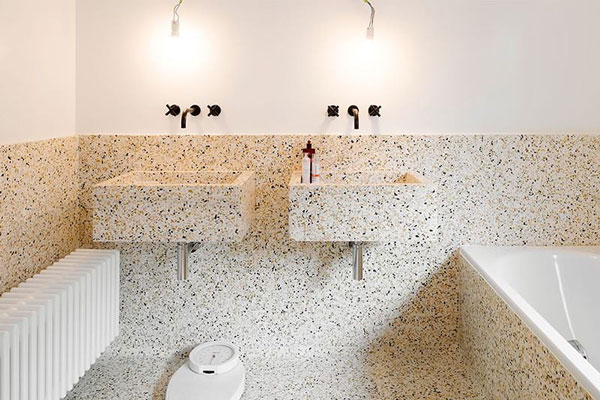 obras en el cuarto de baño
