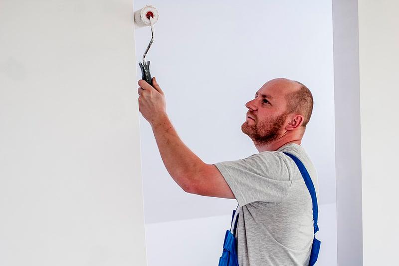 pintar las paredes de tu hogar