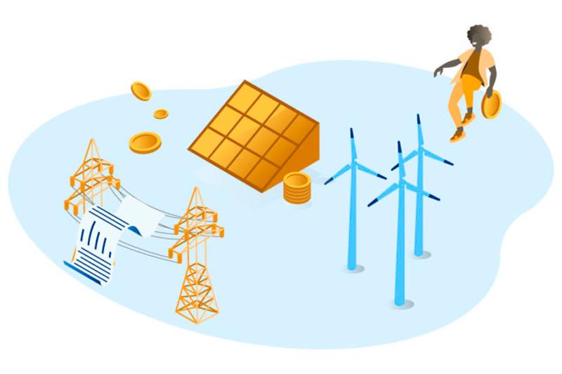 instalación de sistemas de energía renovable